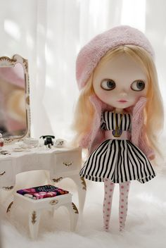 black and white stripe with pink