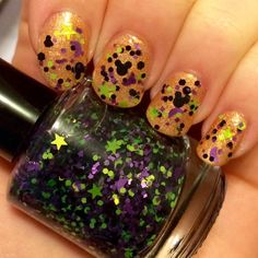 Get a Little Spooky with Hocus Pocus Inspired Mickey Nail Polish