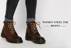 Best and beautiful Women steel toe boots (Updated August, 2016)