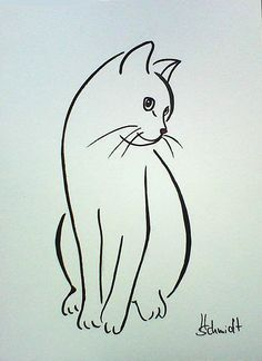Afbeeldingsresultaat voor silhouette van twee katten Tap the link for an awesome. - Afbeeldingsresultaat voor silhouette van twee katten Tap the link for an awesome selection cat and - Painting & Drawing, Cat Drawing, Line Drawing, Cat Sketch, Cat Quilt, Animal Drawings, Drawings Of Cats, Drawing Animals, Rock Art