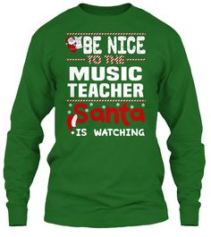 Be Nice To The Music Teacher Santa Is Watching.   Ugly Sweater  Music Teacher Xmas T-Shirts. If You Proud Your Job, This Shirt Makes A Great Gift For You And Your Family On Christmas.  Ugly Sweater  Music Teacher, Xmas  Music Teacher Shirts,  Music Teacher Xmas T Shirts,  Music Teacher Job Shirts,  Music Teacher Tees,  Music Teacher Hoodies,  Music Teacher Ugly Sweaters,  Music Teacher Long Sleeve,  Music Teacher Funny Shirts,  Music Teacher Mama,  Music Teacher Boyfriend,  Music Teacher…
