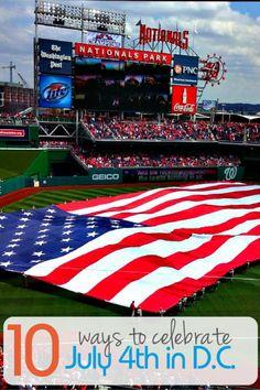 Fourth of July Festivities | Washington D.C. | TravelingMom