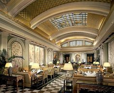 Art Deco Afternoon Tea, The Park Lane Hotel, Picadilly