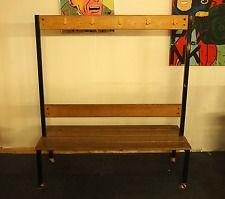 Changing Room School Gym Bench Vintage Retro