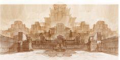 Palace Concept Design 2 by Baahubali.deviantart.com on @DeviantArt
