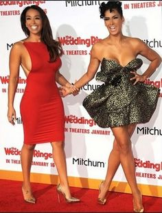 WARDROBE MALFUNCTION: Former 'Basketball Wives LA' Star Laura Govan Suffers Wardrobe Malfunction during 'The Wedding Ringers' Movie Premiere ~ LEGIT UNIVERSO
