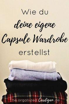 Erstelle dir deinen minimalistischen Kleiderschrank mit meinem kostenlosen Capsule Garderoben Planner