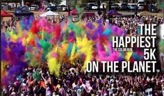 """The Color Run Indy here we come!!! """"Runnin on Empties Tastin the Rainbow"""""""