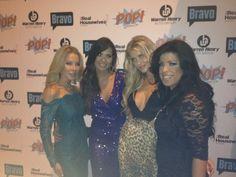 Real Housewives of Miami Lisa, Karent, Joanna aka the WolfPack & Liza Santana Season 2 Premiere Party