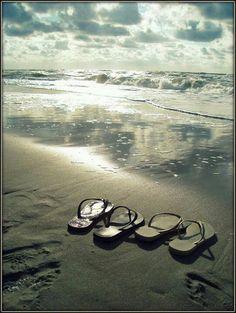 Leave Flip flops here ... Beach fun