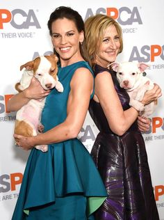 Hilary Swank & Edie Falco from The Big Picture: Today's Hot Pics   E! Online