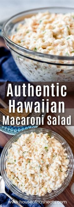 How To Make Tortilla Chips This Hawaiian Macaroni Salad Is A Creamy, Comforting, Authentic Side Dish From The Islands That's Perfect For Summer Cookouts, Barbecues, And Luaus Obviously. We're Talking Local Hawaiian Plate-Lunch Style Classic Macaroni Salad Hawaiian Macaroni Salad, Classic Macaroni Salad, Hawaiian Salad, Macaroni Pasta Salad, Hawaiian Plate Lunch, Hawaiian Dishes, Pasta Dishes, Food Dishes, Recipes