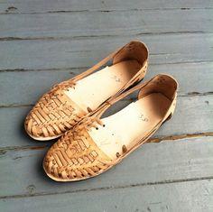 Huarache leather sandals
