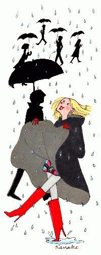 Shuella : parapluie pour chaussures, même avec des talons.