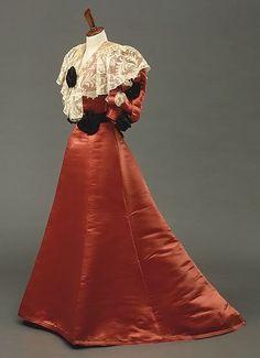 1902 Edwardian Fashion by Worth  #HistoricalStickerDollyDressing