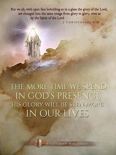 2 Corinthians The more time we spend in God's presence, His glory will be seen more in our lives. Scripture Verses, Bible Verses Quotes, Bible Scriptures, Scripture Pictures, Bible Teachings, Faith Quotes, Bride Of Christ, Christian Inspiration, Trust God