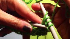 Knit m1 Maglia lezione 5: la maglia gettata english