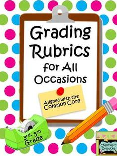 14 Rubrics to help you with that huge pile of grading! PLUS there are 4 Self-Evaluations for students to fill out about themselves. Save yourself some time. Teacher Organization, Teacher Tools, Teacher Hacks, Teacher Resources, Teacher Stuff, Primary Resources, Teacher Binder, Classroom Resources, School Fun