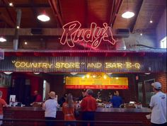 Rudy's Barbecue - my favorite Bryan/College Station!