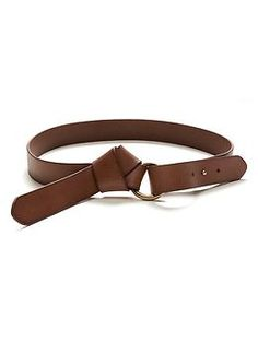 Knotted Leather Belt | Banana Republic