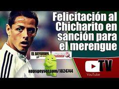 La felicitación para el Chicharito podría salirle cara al equipo merengue