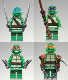 Teenage Mutant Ninja Turtle LEGOs