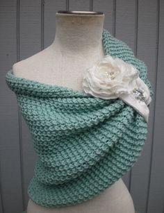 A personal favorite from my Etsy shop https://www.etsy.com/listing/195203246/bridal-shawl-shawl-wedding-shawl-wedding