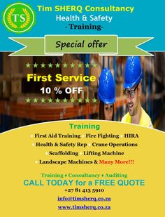 Health & Safety Certificate **👇special👇** Health And Safety Poster, Safety Posters, Safety Training, Free Quotes, Certificate, Health Care, Health And Safety, Training, Health