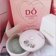 #pandora Valentine's Day 2018 lock your promise gift set limited edition