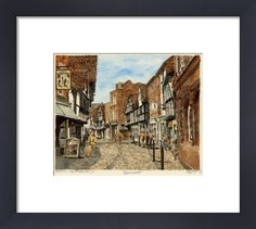 Worcester (street) by Philip Martin - art print from King Philip Martin, Framing Canvas Art, Worcester, Picture Frames, King, Art Prints, Street, Poster, Pictures