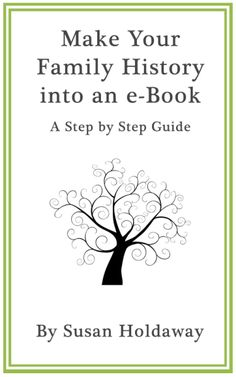 Learning Center Make Your Family History into an eBook: A Step by Step Guide - explains about different formats, free software etc.Make Your Family History into an eBook: A Step by Step Guide - explains about different formats, free software etc. Genealogy Sites, Genealogy Research, Family Genealogy, Genealogy Forms, Genealogy Chart, Ex Libris, Family Tree Research, Family History Book, History Books