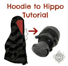 We Lived Happily Ever After: Hoodie to Hippo  She has explained this very well and makes it look very easy which is important to me