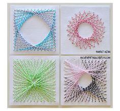 Home-Dzine - String art makes a comeback!