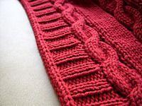 Видео-МК;Как обработать край изделия полым шнуром (I-CORD);Как обработать круглую горловину полым шнуром (I-CORD); Knitting Socks, Knitting Stitches, Knitting Projects, Sewing Projects, Knitting Patterns, Crochet Patterns, Knit Edge, I Cord, Knitted Blankets