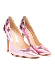 Christian Siriano pink metallic oxford | ♥ Metallic Pink ...