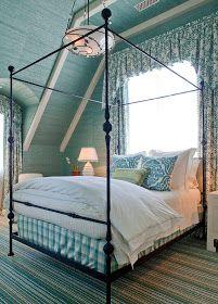 Jodie Carter Design: Blue in the Bedroom