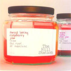 Jam bottle design