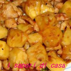 pollo ananas_e Oriental, Carne, Asia, Shrimp, Chicken, Meat, Cooking, Food, Sushi