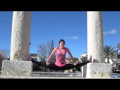 Chloe Bruce.  Martial arts flexibility inspiration, right here