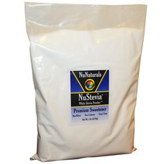 NuNaturals, NuStevia, White Stevia Powder, 5 lbs (2270 g)