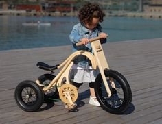 A complete innovation in children riding toys! The wooden Leg&Go through 8…