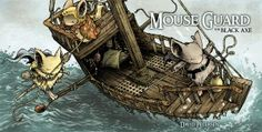 A great RPG where you play brave little Mouse guards protecting your fellow mice. Charming. The comics which they are based on are also great. David Petersen is a superb artist.