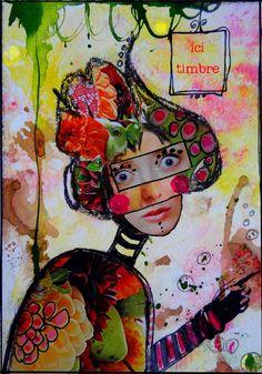 couleurs et mixed media: tutoriels