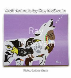 Indigenous Art, Wolf, Artisan, Snoopy, Fictional Characters, Animals, Products, Animales, Animaux
