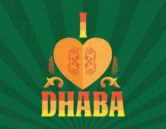 Dhaba by Claridges - Placemats & Dhaba Gurgaon wall art