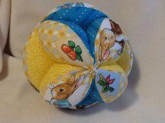 Baby Play Ball vintage Peter Rabbit fabric by OhBabybyMaralyn, $15.00