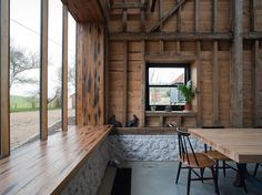Good wood - WOW WOW WOW WOW WOW WOW…..WOW! A stunning renovation of an old barn in Kent, UK, by local architects Liddicoat & Goldhill. Called 'The Ancient Party Barn', good name.