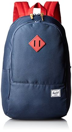 43263b8bd5c Herschel Supply Co Nelson NavyRedRed Rubber One Size -- Want to know more