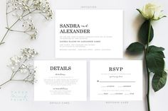 Hey, I found this really awesome Etsy listing at https://www.etsy.com/ca/listing/268653469/lauren-suite-wedding-invitation-suite