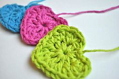 Ravelry: Simple Crochet Heart pattern by Sara McFall